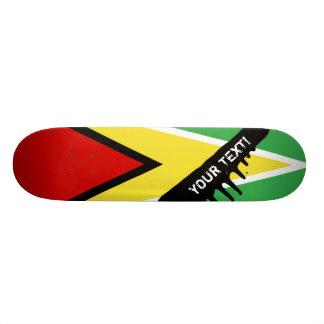Guyana Flag Skateboard