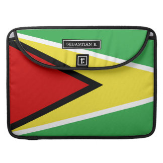 Guyana Flag Sleeve For MacBooks