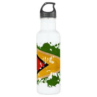 Guyana Flag Water Bottle