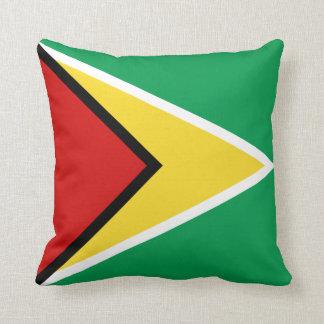 Guyana Flag x Flag Pillow