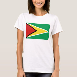 Guyana Flag x Map T-Shirt