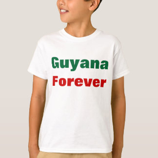 Guyana forever t-shirts