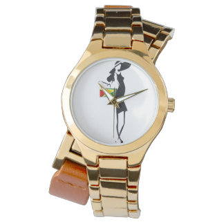 Guyana Girl Gold Wraparound  Watch