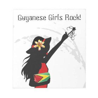 Guyana Girl NotePad