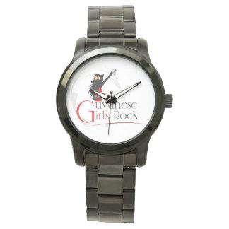 Guyana Girl Oversize Black Bracelet Watch