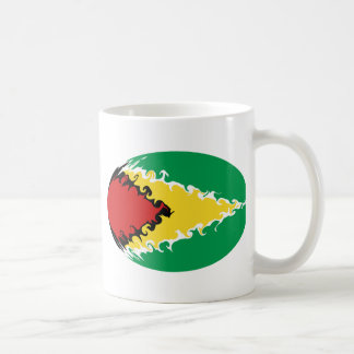 Guyana Gnarly Flag Mug