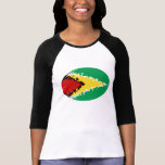 Guyana Gnarly Flag T-Shirt