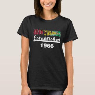 Guyana Golden Jubilee Celebration T Shirt 1966