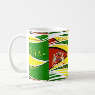 Guyana, Happy 50th Anniversary Classic White Coffee Mug