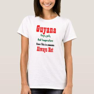Guyana hot girls and guys t-shirts
