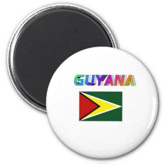 Guyana Imán Redondo 5 Cm
