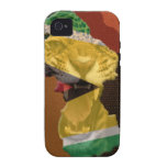 Guyana Jaguar Case-Mate iPhone 4 Fundas