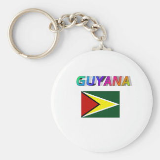 Guyana Llavero Redondo Tipo Pin