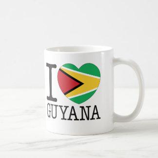 Guyana Love v2 Classic White Coffee Mug