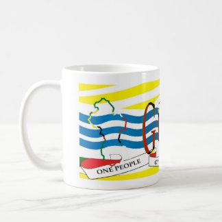 Guyana Map Mug_Design_12 Classic White Coffee Mug