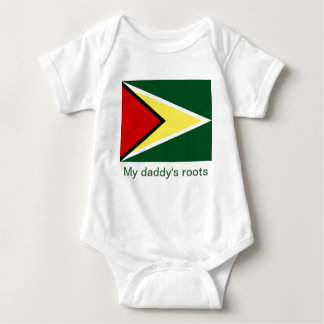 Guyana my daddy's roots baby bodysuit