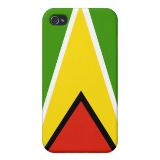 guyana National Nation Flag  Covers For iPhone 4