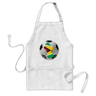 Guyana national team adult apron