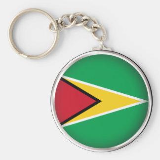 Guyana redonda llavero redondo tipo pin