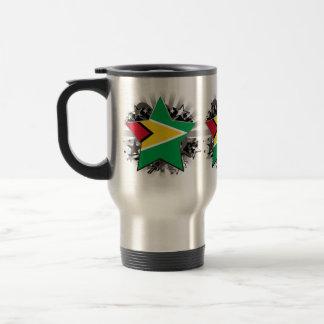 Guyana Star 15 Oz Stainless Steel Travel Mug