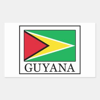 Guyana sticker