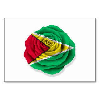 Guyana subió la bandera en blanco