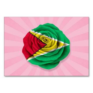 Guyana subió la bandera en rosa