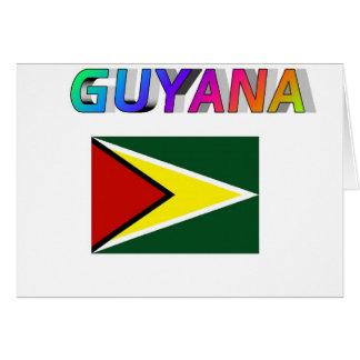 Guyana Tarjeta De Felicitación