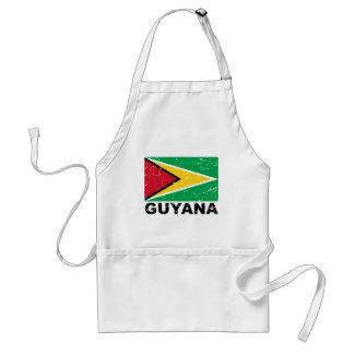 Guyana Vintage Flag Adult Apron