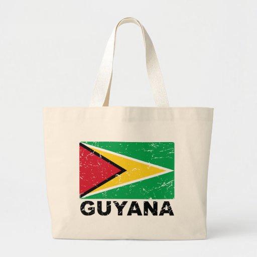Guyana Vintage Flag Bags