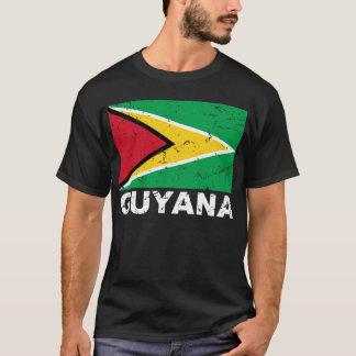 Guyana Vintage Flag T-Shirt