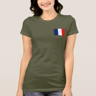 Guyane Flag and Map dk T-Shirt