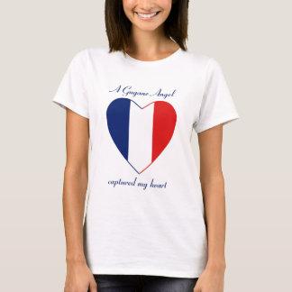 Guyane Flag Sweetheart T-Shirt