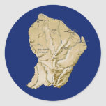 Guyane Map Sticker