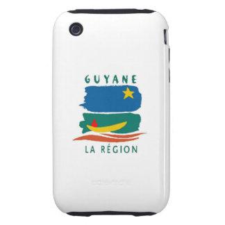 guyane region country flag case