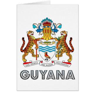 Guyanese Emblem Greeting Card