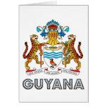 Guyanese Emblem Cards