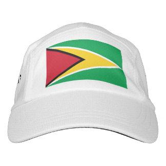 Guyanese flag headsweats hat