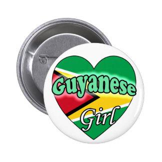 Guyanese Girl Pin