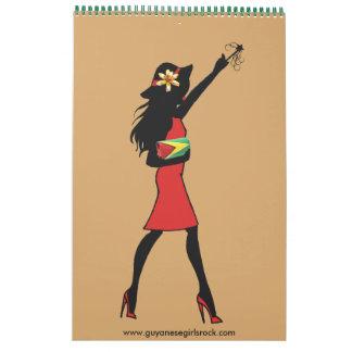 Guyanese Girls Rock Calendar