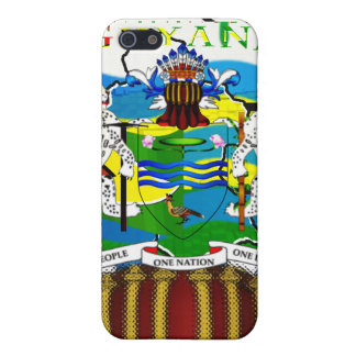 Guyanese styled Speck® Fitted™ Fabric-Inlaid Hard iPhone SE/5/5s Cover