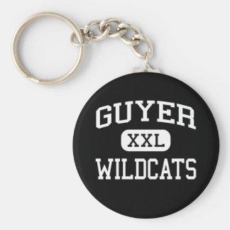 Guyer - Wildcats - High School - Denton Texas Keychain