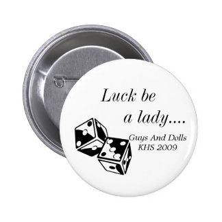 Guys and Dolls Promo Pin