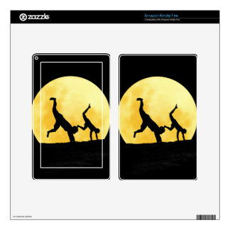 Guys and the full moon decal for kindle fire