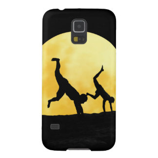 Guys and the full moon galaxy s5 cover