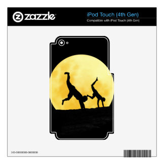 Guys and the full moon iPod touch 4G skins