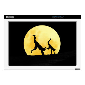 Guys and the full moon laptop skins
