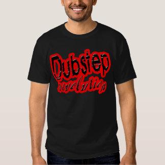 guys cool black Dubstep music revolution t-shirt
