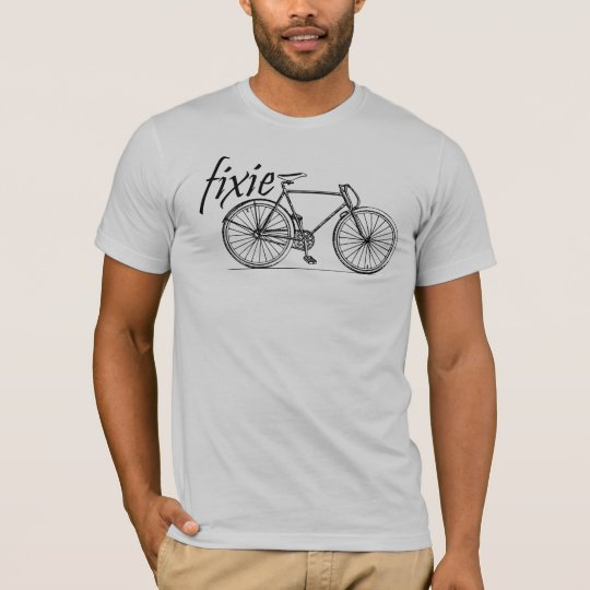 guys fixie rider T-Shirt