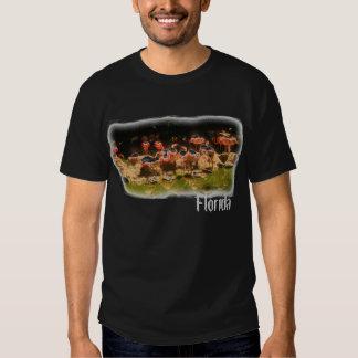 Guys Florida flamingo shirt